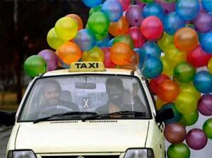 Работа в такси - фото дня